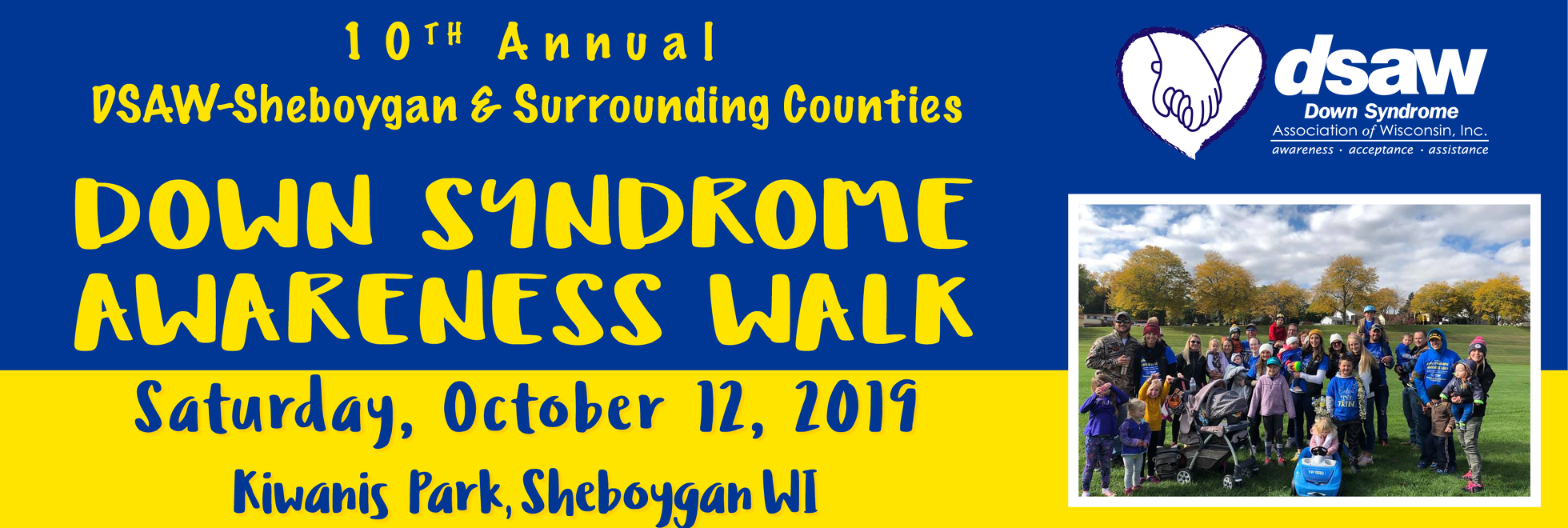 Sheboygan Down Syndrome Awareness Walk 2019